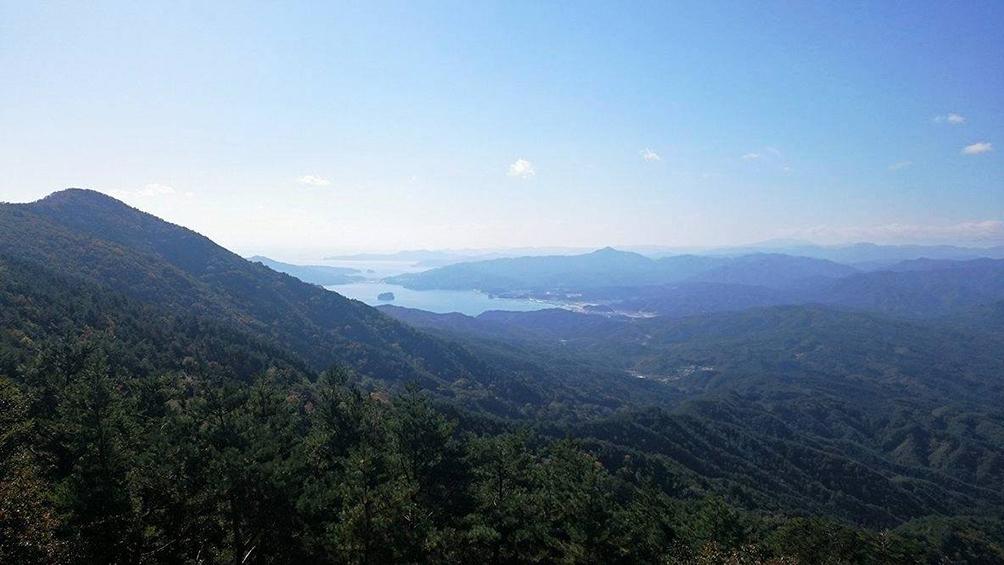 山田湾 船越湾の景観